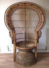 large wicker fan chair design ideas retro pea chair artsoutine arts and antiques browse