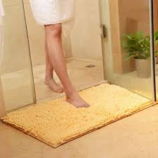 Amazon Com Vctops Plush Chenille Bath Rugs Extra Soft And