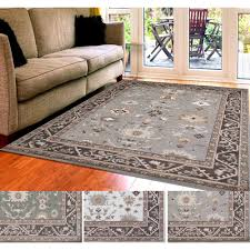 home interior lavishly olefin rug better homes and gardens taupe ornate circles area or runner