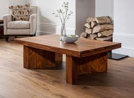 angled coffee table sheesham wood