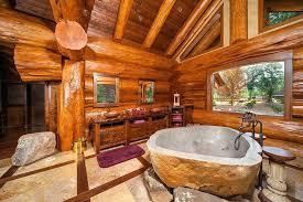rustic bathroom rugs memory foam bath with and two sinks windows mat custom log home framed