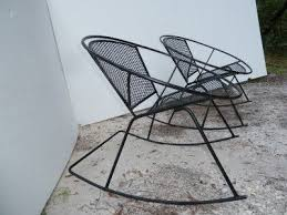 mid century patio chairs rare mid