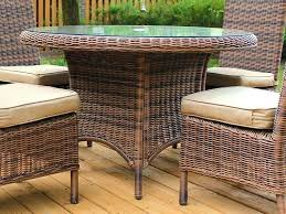 wicker outdoor dining settings wicker dining set south sea rattan ray round wicker dining table white