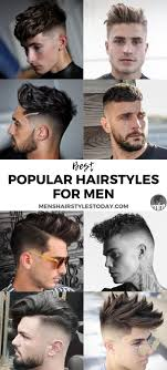 50 Popular Haircuts For Men 2019 Guide Mens Hairstyles