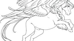 Pegasus Coloring Pages Parichayinvestments Perfect Coloring