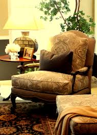 absolutely love my ethan allen harris chair ottoman