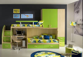 double beds for boys. Exellent For Green Double Boys Bunk Beds In For O