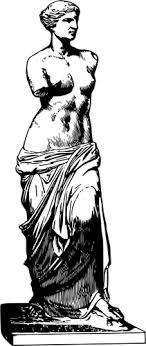 Statue Vénus de Milo Grecque