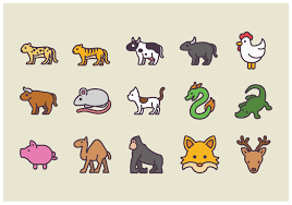 Animal Icon Pack Of Animal Icon Vectors Download Free Vectors Clipart