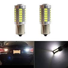 1156 P21W BA15S Reversing Lights <b>2PCS LED</b> Bulb 33SMD 5630 ...