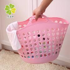 Pink Plastic Laundry Basket Extraordinary Buy Life Style Fashion Soft Plastic Laundry Basket Laundry Basket Of