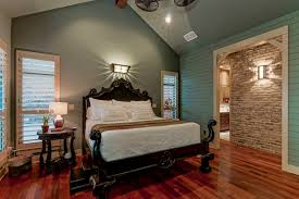 traditional blue bedroom ideas. Traditional Blue Bedroom With Elegant Dark Wood Bed Ideas P