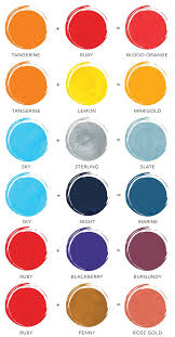 How To Make Color Mixing Chart New Dina Wakley Media Mixing Chart Available Mixing Paint