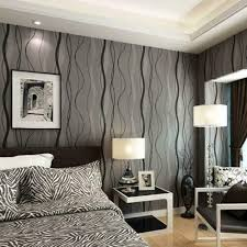 10m <b>Modern 3D Non-woven</b> Wallpaper Curve for Office Bedroom TV ...