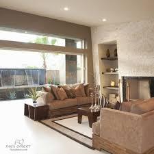 faux brick living room 2