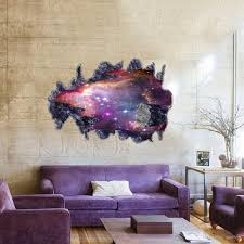 whole modern luxury creative 3d wallpaper bedroom living room ceiling painting floor roofs stars galaxy nebula wallsticker stickers screensavers