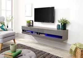 gfw galicia grey gloss led tv unit