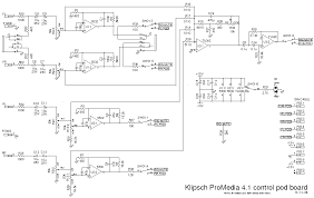 have an old klipsch 4 1 speaker system did it die i bet you can the diagram for my pod