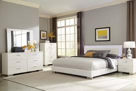 Queen Bed Bedroom Set Coaster 203500q Felicity Led Lighting 4 Pcs Queen Bedroom Set
