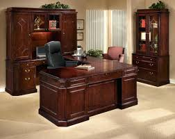 executive wood desk accessories luxury wooden office chair cherry