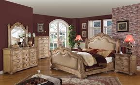 sleigh bed furniture. Sleigh Bedroom Set With Leather Headboard And Footboard | Xiorex Bed Furniture L