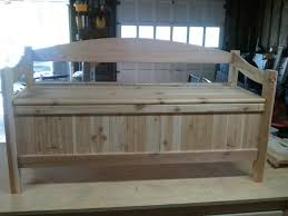 Outdoor Wood Storage Bench  Affordable Outdoor Wood Storage Bench Wood Bench With Storage Plans