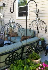 chandelier crafts outdoor living diy outdoor solar lighting ideas home design game hay us