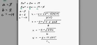 how to solve quadratic equation word problems in algebra math wonderhowto
