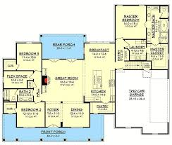 3 Bedroom Country Floor Plan  Home Decorating Interior Design Country Floor Plans