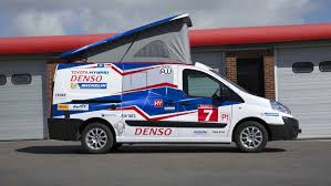 Camper Cars Toyota Proace Pro40 Camper In Lmp1 Livery 2015 Review By Car
