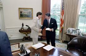 reagan oval office. The Reagan Family Oval Office