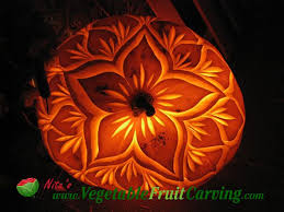 Flower Pumpkin Carving Patterns