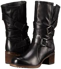 dune london women s rocking motorcycle boot black leather shoes boots dune red court shoes