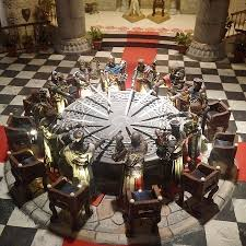 king arthur39s knights of the round table picture of king arthur round table winchester england