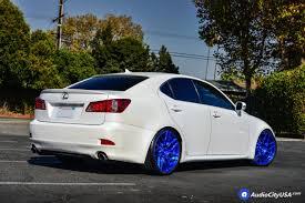 lexus is 250 2014 custom. 19u2033 rohana wheels rfx7 custom pica blue finish rims hu0026r springs 2009 lexus is 250 2014