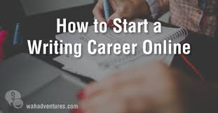 writing jobs make money online how to start an online lance writing career