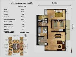 2 Bedroom Suites Las Vegas Vegas 2 Bedroom Floor Plan 2 Bedroom Suite Elara  Las Vegas Kitchen Painting