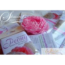 Peony Paper Flower Precut Easy Peony White Wafer Paper Flowers