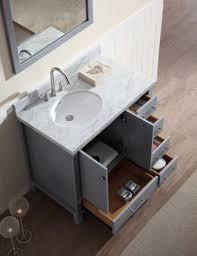 36 bathroom vanity with offset sink. ariel cambridge 37\ 36 bathroom vanity with offset sink