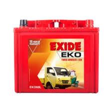 Exide Automotive Battery Application Chart Exide Eko60l 60ah Bajaj Auto Automotive Batteries