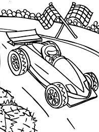 Small Picture Track Racing F1 Coloring Page Formula 1 car coloring pages