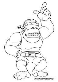 Donkey Kong Country Coloring Pages Get Coloring Pages