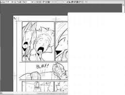 manga page size printing lour work manga studio joshua nava arts