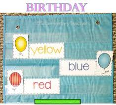 Learning Resources Birthday Pocket Chart 155 Best Esl Birthday Theme Images In 2019 English