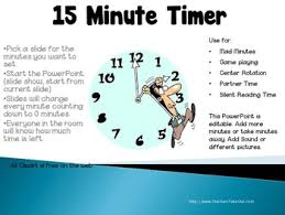 Fifteen Minutes Timer 15 Minute Timer By Teachers Take Out Teachers Pay Teachers