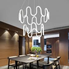 chair dazzling modern led chandelier 9 minimalistic home lighting fixture symmetrical curves at lifeix design 1405414735903