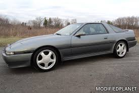 1994 Toyota Supra Turbo Wheels on MK3 Toyota Supra