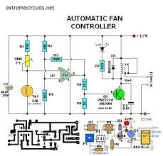 automatic fan controller electronics fans automatic fan controller electronics lab see more led flasher circuit