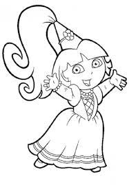 Dora Coloriage En Ligne Filename Coloring Page Free Printable Coloriage En Ligne 4 Ans L