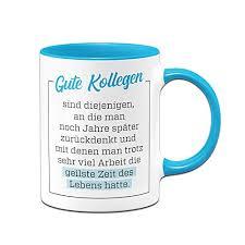 Tassenbrennerei Tasse Gute Kollegen Geschenk Für